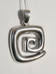 Мобиле (серебряный кулон)