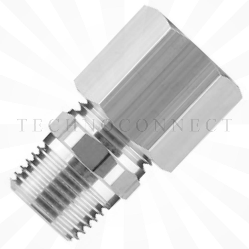 H10-02S-X2  Прямой фитинг с накидной гайкой