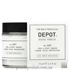 Depot The Male Tools & Co Pre & Post Shave Cream Skin Protector - Защитный крем для применения до и после бритья