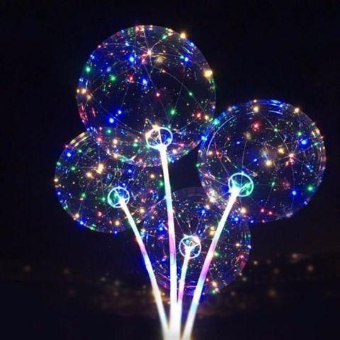 Шар-сфера Баблс (Bubble) светящийся