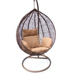 Подвесное кресло среднее Kvimol КМ-0001 Brown