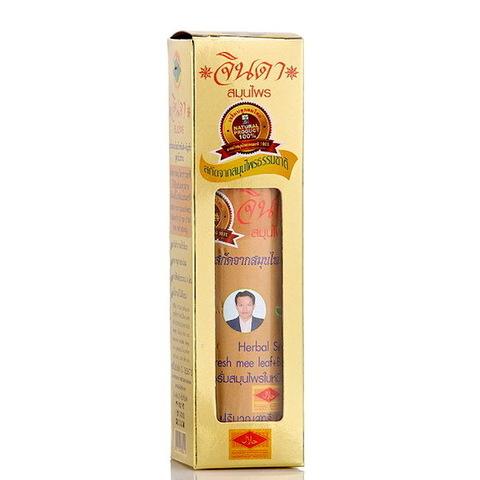 Лосьон для роста и против выпадения волос Jinda Herbal Hair Renew Serum (Fresh meeleaf + Butterfly Pea)