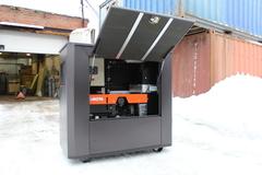 Всепогодный шумозащитный домик для генератора SB1800DM
