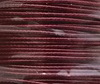 Шнур вощеный, 1 мм, цвет - бордовый, примерно 85 м