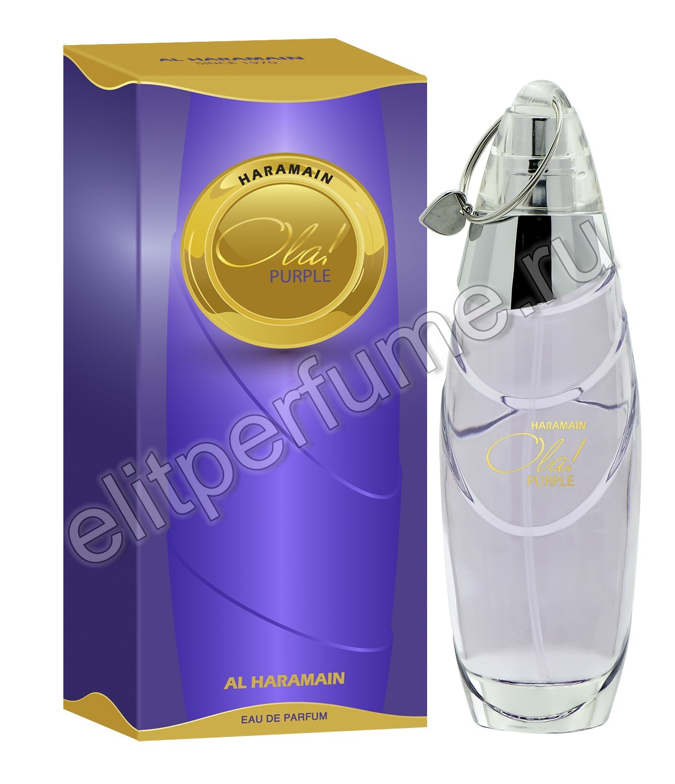Haramain Ola Purple / Харамайн Ола Фиолетовый 100 мл спрей от Аль Харамайн Al Haramain Perfumes