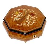 Шкатулка для ювелирных украшений музыкальная, арт. AW-02-062 от Artwood, Италия