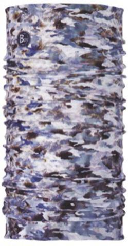 Бандана-повязка на голову летняя Buff Camu Fish Grey