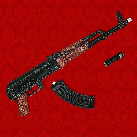 """Штоф """"Автомат Калашникова АК-47"""" (укороченный)"""
