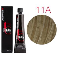Goldwell Topchic 11A (белокурый пепельный) - Cтойкая крем краска 60мл