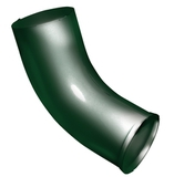 Колено стока ф90 (RAL 6005-зеленый мох)