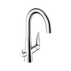 Смеситель для кухни с вентилем для посудомоечной/стиральной машины Hansgrohe Talis S 72811000 фото