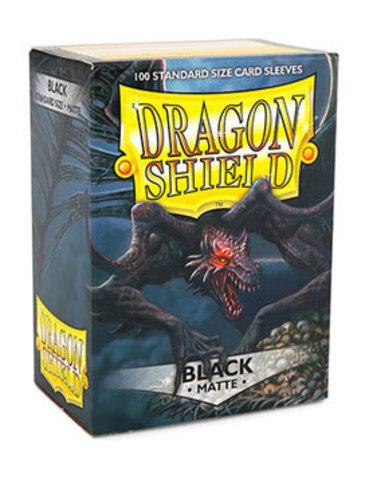 Dragon Shield - Черные матовые протекторы 100 штук