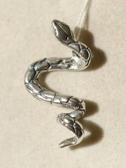 Змея(серебряная подвеска)