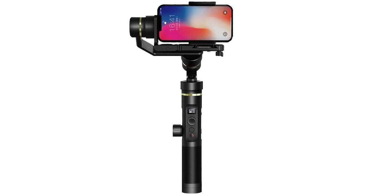Стабилизатор трехосевой Feiyu FY-G6 Plus со смартфоном