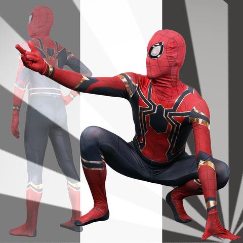 Марвел Мстители Война Бесконечности костюм взрослый Железный паук