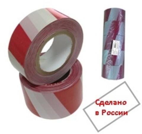 Лента оградительная (упак. 5 шт.) ЛСО-75х250 TDM