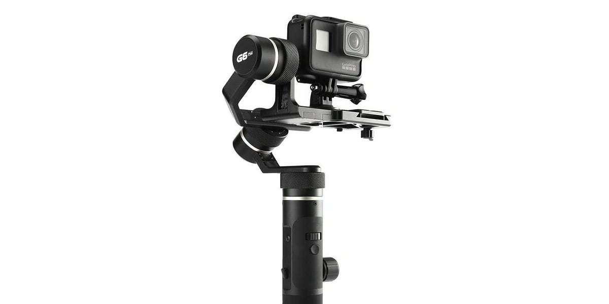 Стабилизатор трехосевой Feiyu FY-G6 Plus с экшн-камерой