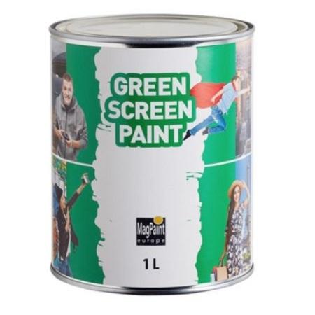 Краска для видеосъемок «зелёный экран» Greenscreen Paint / Гринскрин Пэйнт