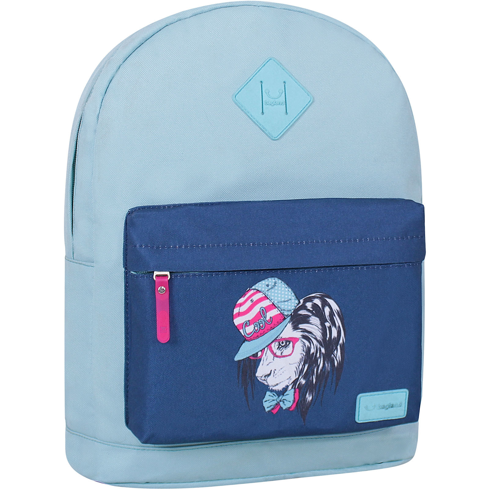 Городские рюкзаки Рюкзак Bagland Молодежный W/R 17 л. тиффани 180 (00533662) IMG_9500_суб.180_.JPG