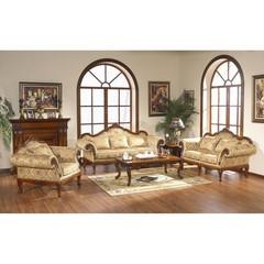 Трехместный диван Валенсия (0611 MK-1703-DN) Темный орех