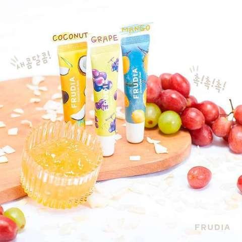 Frudia Mango Honey Lip Mask Фрудиа Ночная маска для губ с манго