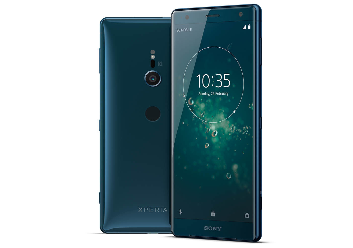 H8266/G смартфон Sony Xperia XZ2, цвет Темный изумруд