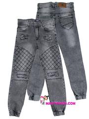 1302 джинсы джоггеры строчка