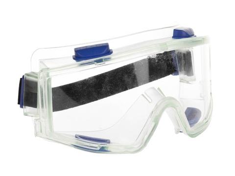 ЗУБР ПАНОРАМА панорамные очки защитные  с непрямой вентиляцией, закрытого типа.