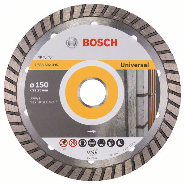 Алмазный диск Standart for Universal Turbo 150-22,23 Bosch 2608602395