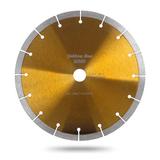 Алмазный сегментный диск MesserYellow Line Granite. Диаметр 125 мм.