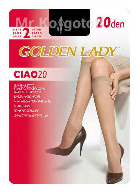 Гольфы Golden Lady Ciao 20 гольфы (2 пары)