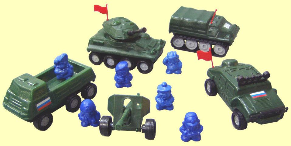 Набор в сумочке Патриот военная техника С-138-Ф