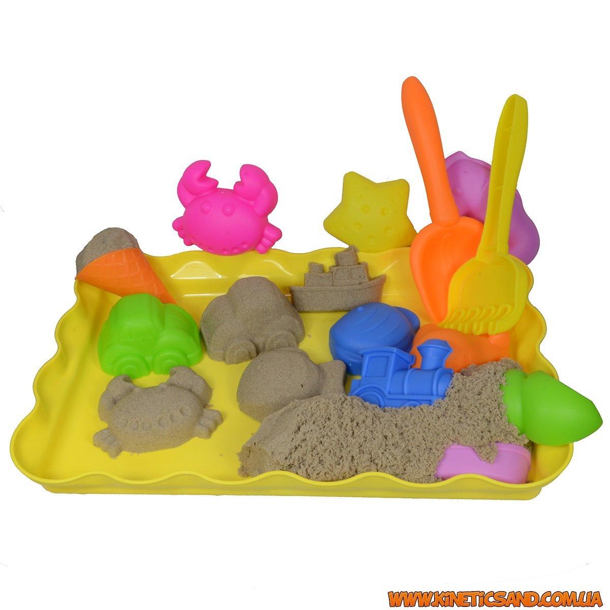 набор кинетический песок