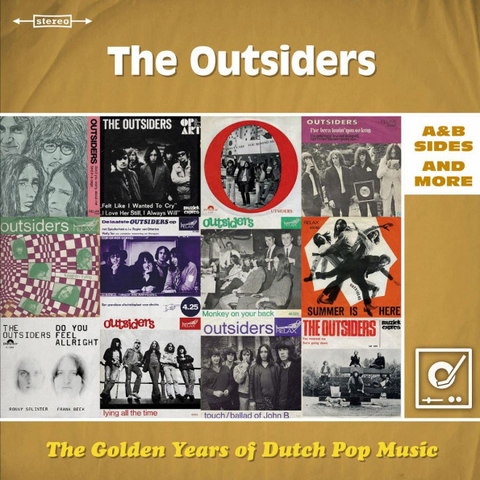 The Outsiders / The Golden Years Of Dutch Pop Music (A&B Sides And More)(2LP)