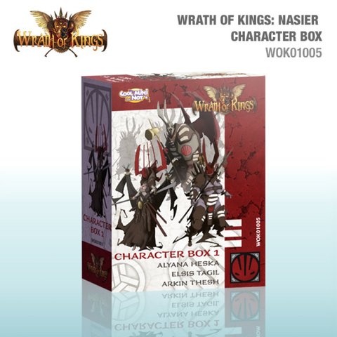 Nasier Character Leader Box