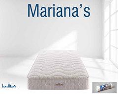 Матрас ортопедический Lordflex's Mariana's 80х200 до 140 кг в вакуумной упаковке