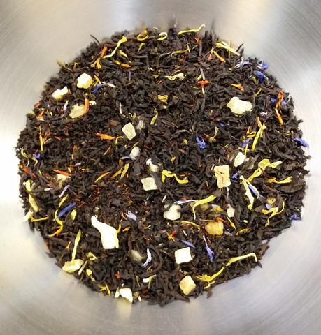 Чай черный Манго с календулой и васильками