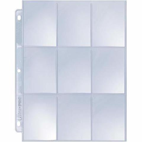 9-Pocket Platinum Page for Standard Size Cards  1 лист