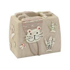 Стакан для зубных щёток Creative Bath детский Animal Crackers