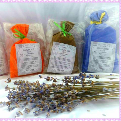 Травяная арома-подушечка «Лавандовый рай»