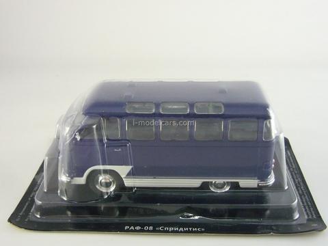 RAF-978 Spriditis blue 1:43 DeAgostini Auto Legends USSR #148