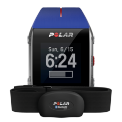 Пульсометр для фитнеса Polar V800 HR Blue