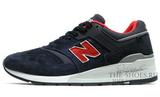 Кроссовки Мужские New Balance 997 Dark Blue Red