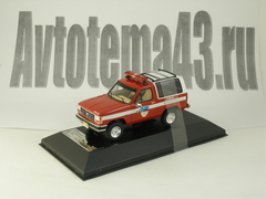 1:43 Ford Bronco II Fire Department 1990