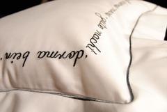 Пододеяльник 180х200 Christian Fischbacher Luxury Nights Sweet Dreams 557 антрацит