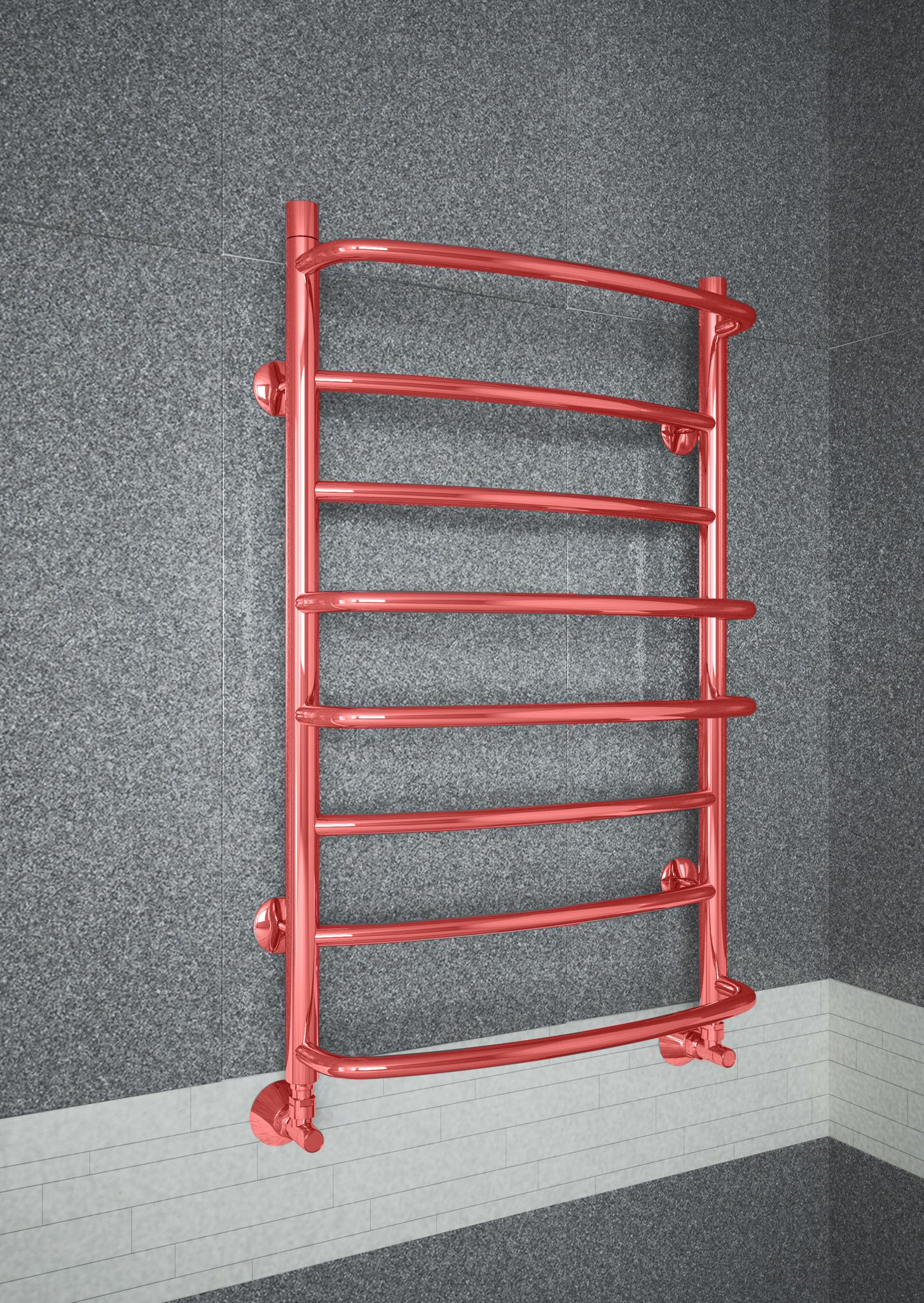 Euromix Classic Ral - цветной полотенцесушитель