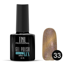 TNL, Гель-лак Magnet LUX №33 - блестящая античная латунь, 10 мл