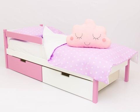 Кровать ФОРЕСТ лаванда-белый