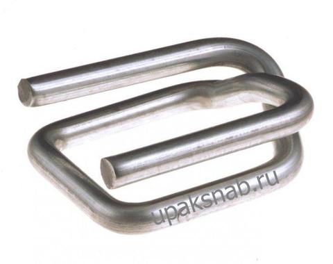 Пряжка проволочная 13, для ленты 12-13 мм, оцинкованная