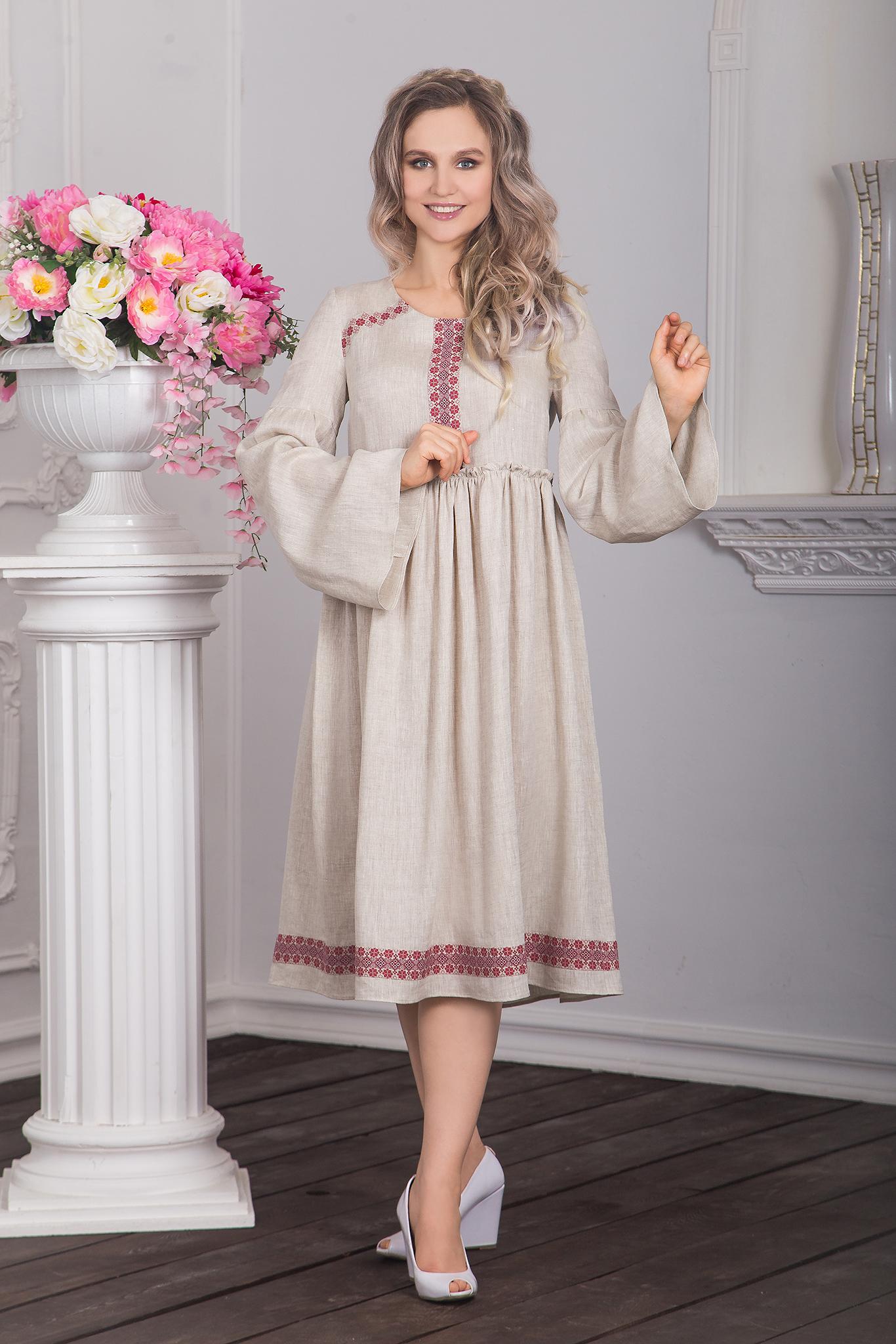Платье русское Капитанская дочка фото
